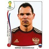 N� 605 - Stickers Image Panini Fifa World Cup Brasil 2014 - Sergei Ignashevich