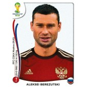N� 606 - Stickers Image Panini Fifa World Cup Brasil 2014 - Aleksei Berezutski