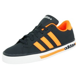 Adidas Neo Daily Team Chaussures Mode Sneakers Homme Bleu Orange