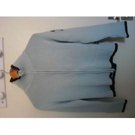 Gilet D�cathlon Acrylique 38 Turquoise