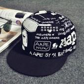 Eleyooner Casquette De Baseball Caps Hip-Hop Chapeau Graffiti Snapback Unisexe Beechfield Chapeau Visi�re Plat Mode Casquette Solaire Casquette Casual
