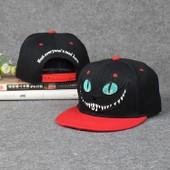 Eleyooner Casquette Baseball Caps Hip-Hop Unisexe Beechfield Snapback Chapeau Visi�re Plat Casquette Solaire R�glable Casquette Casual Sport Voyage Bande Dessin�e Chat
