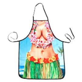 Tablier Aloha Imprim� Adulte � Taille Unique