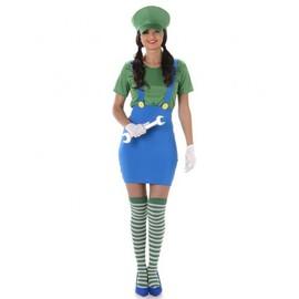 D�guisement Plombier Vert Femme, Taille Large