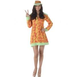 D�guisement Disco Hippie Femme, Taille Medium