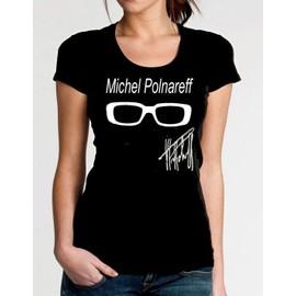 T-Shirt Polnareff Lunette Signature Pour Femme Xs S M L Xl 2xl 3xl