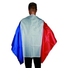 Cape Supporter France 87 X 150 Cm
