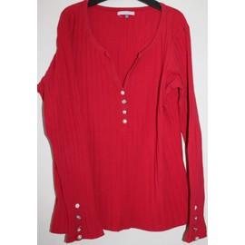 T-Shirt Patrice Br�al 42 Rouge