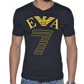 T-Shirt Armani Ea7 Train Graph M 273755 Slim Fit Coton