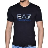 T-Shirt Mc Col V Emporio Armani Ea7 Train Graphic 273418 Slim Fit Coton