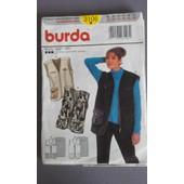Patron Gilet/Veste Femme Burda T 36-46