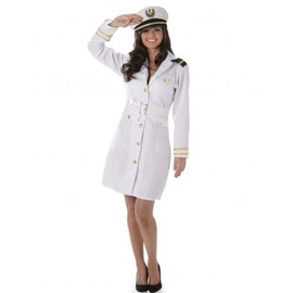 D�guisement Officier Marin Femme, Taille Medium
