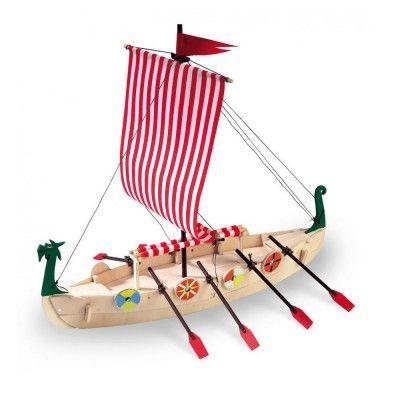 Maquette Bateau En Bois : Drakkar Viking