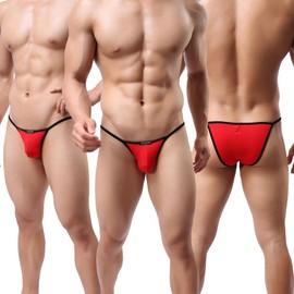Slip Sexy Modal Sexy Confortable Unique Style Mini Sous-V�tements Hommes,Multicolor Taille M/L/Xl
