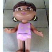 Dora L�Exploratrice Poup�e Figurine Articul�e En Plastique Dur 21cm Environ - Mattel 2002