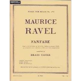 fantare extrait de l'éventail de jeanne - transcription pour 3 trompettes, 4 cors et 4 trombones