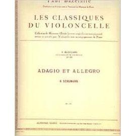 adagio et allegro - classiques du violoncelle n° 50