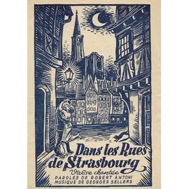 dans les rues de Strasbourg- valse chantée- voix seule