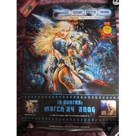 affiche DORO warrior soul 2006