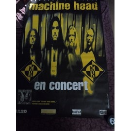 affiche MACHINE HEAD the more things change tour