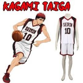 Cosplay Taiga Kagami N�10 Seirin Version Blanche