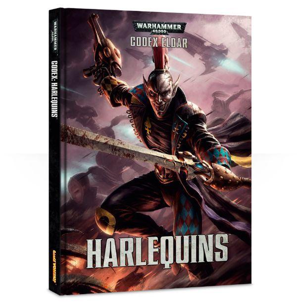 Warhammer 40,000 ( 40k ) - Codex : Eldar Harlequins