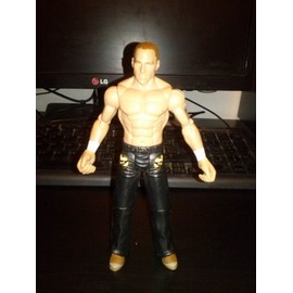 Figurine Catcheur : S.Michaels, H : 17 Cm, Mattel