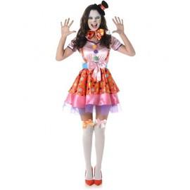 D�guisement Clown Femme, Taille Small