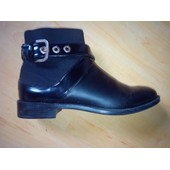 Bottines Zara 38 Noir