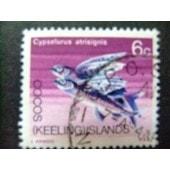 Cocos Islas Keeling 1969 Faune Poissons Yvert N� 13 � Fu