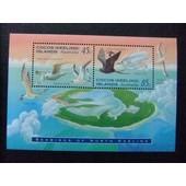 Cocos Islas Keeling 1995 Faune Oiseaux De Mer Yvert N� Bloc 14 ** Mnh