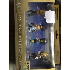 Pack Mini Figurine Ff - Cloud - Rinoa - Yuna - Vaan