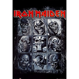 Maxi Poster Iron Maiden Neuf Eddies Plastifié