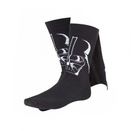 Chaussettes Dark Vador Star Wars Avec Cape - Taille 43/46