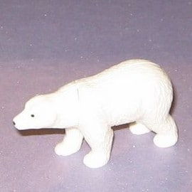 Figurine Ours Blanc - S�rie Animaux Polaires (2012)