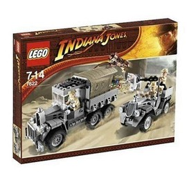 L'attaque Lego Indiana Du Jones 7622 Convoi bvfg76IYy