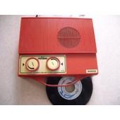 Mange disque Vintage marque RUBINO 33/45T