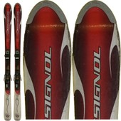 Ski Occasion Rossignol Bandit B1 Rouge + Fixations - 160 Cm