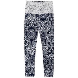 Vktech� Femme Sexy Pantalon Maigre Collant De Crayon Legging En Dentelle Floral Taille �lastique Pour L��t�