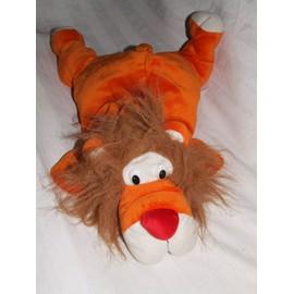 Lion Super Toys Simba Orange Style Rumple Doudou Peluche 50 Cm Allong� Couch�