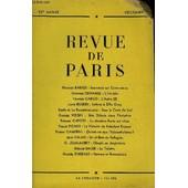 Revue De Paris 55e Annee - Maurice Barr�s : Souvenirs Sur Clemenceau Georges Duhamel : L'herbier Francis Carco : L'autre (Ii)John Ruskin : Lettres � Effie Gray Edm�e De La Rochefoucauld : ...