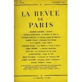 Revue De Paris 59e Annee - Georges Duhamel : Souvenirsl�opold Marchand : Le Pr�sident Du Club (I)Maurice Gar�on : Le Mariage Manqu� De Huysmansgabriel Puaux : L'imbroglio Nord-Africainh. H. ...