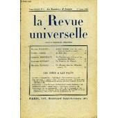 La Revue Universelle Tome 33 N�1 - Marcel Proust. Lettres In�dites (Avec Une Introduction De L�on-Pierre Quint). . .Lucien Fabre. Le Rire (Fin)L�opold Marcellin. La Chambre Qui S'en Va Et ...