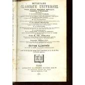 Dictionnaire Classique Universel - Francais, Historique, Biographique, Mythologique, Geographique, Et Etymologique Contenant : Le Vocabulaire Francais, Les Etymologies, Des Notices ... de BENARD TH. M.