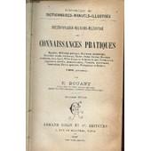 Dictionnaire Manuel Illustre Des Connaissances Pratiques - de BOUANT E.