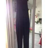 Combinaison Miss Captain Pantalon Viscose 36 Noir