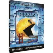 Pixels - Combo Blu-Ray + Dvd + Copie Digitale - �dition Bo�tier Steelbook de Chris Columbus