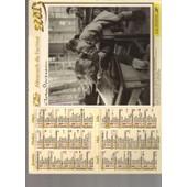 Almanach / Calendrier Oller Du Gard De 2001 / Enfants / Robert Doisneau