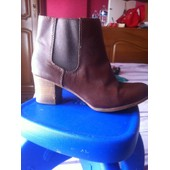 Bottines Zara 38 Marron