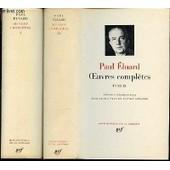 Oeuvres Completes En 2 Tomes (1+2) - Edition Etablie Par Marcelle Dumas Et Lucien Scheler. de paul eluard